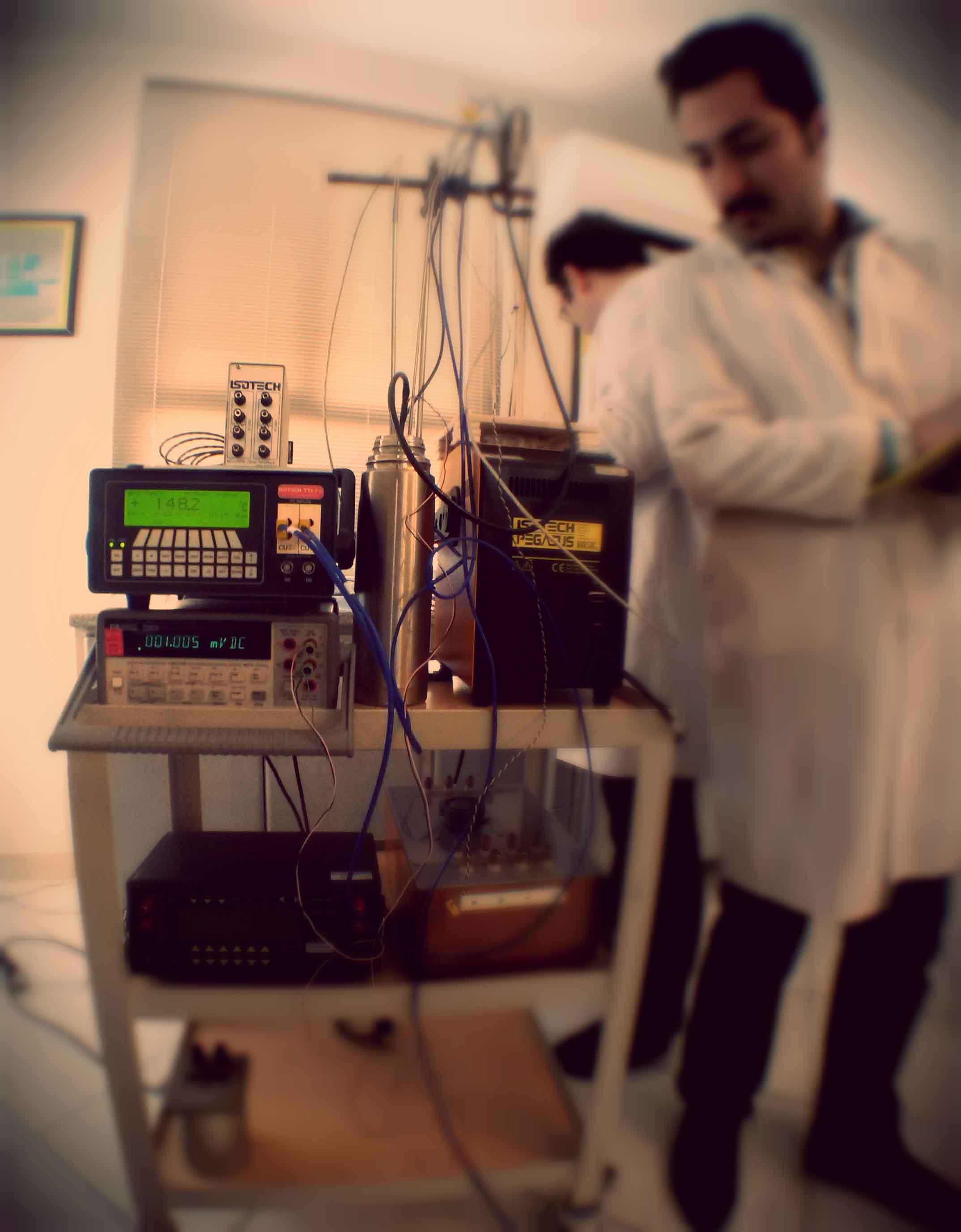 آزمایشگاه کالیبراسیون دما